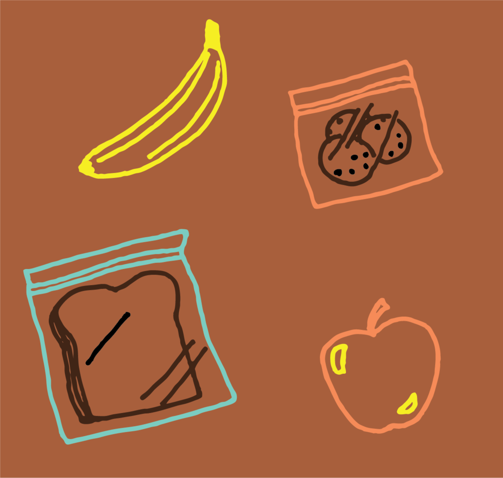 Snacks for hiking