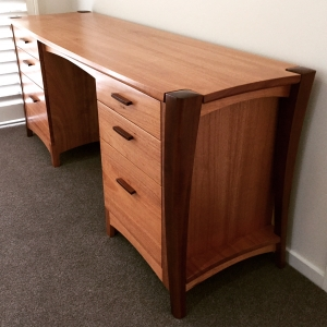 Maple Desk hand crafted custom made