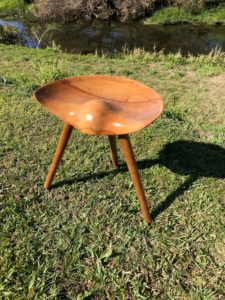 Restored to enhance its classic lines this Mid centruy Oak stool was designed my Mogens Lassen in 1942
