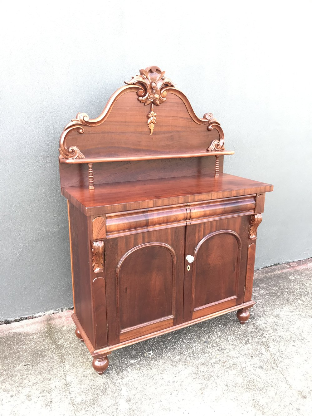 Beautiful once again , restored chiffonier.