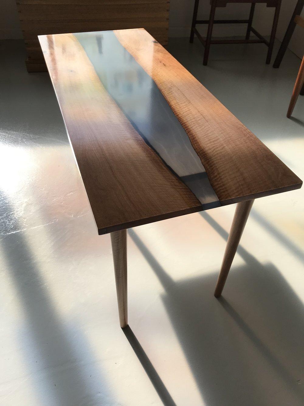 beautiful student work  elegant coffee table