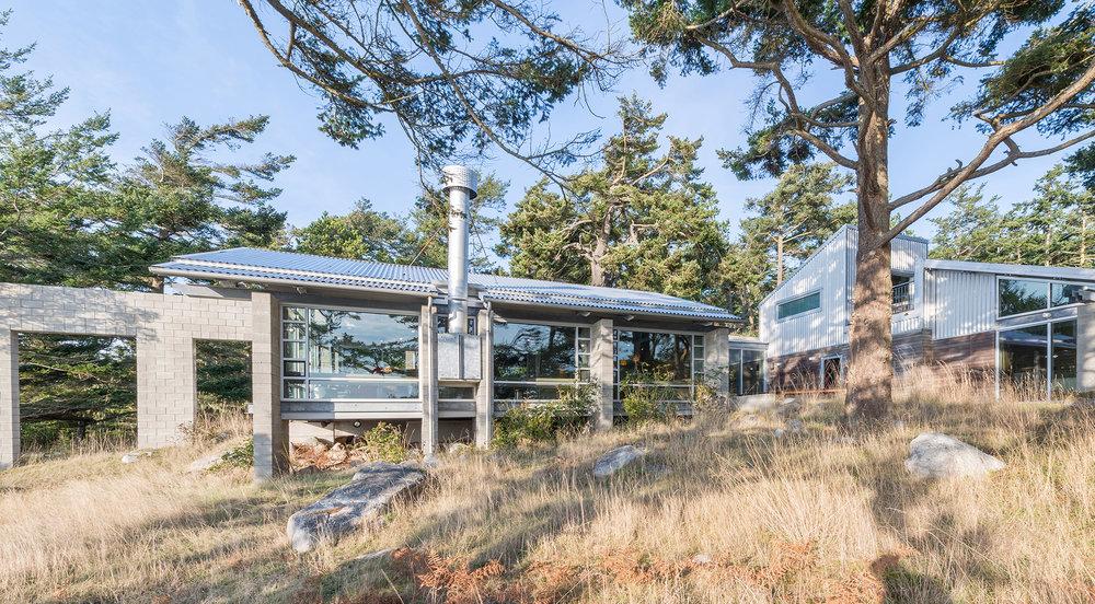 Lopez Island Residence by Walker Architects