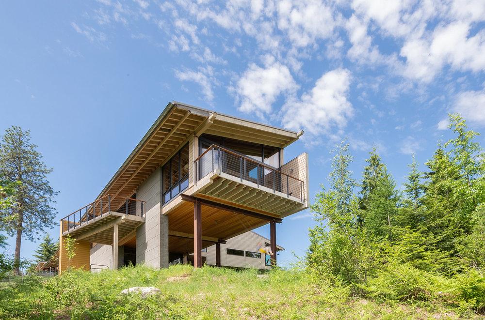 Larch Residence by Katie Egland Cox & Gordon Walker