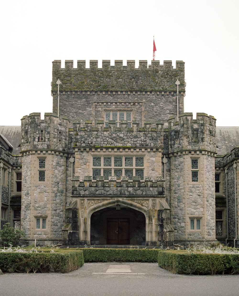 Hatley Castle on Kodak Ektar 100