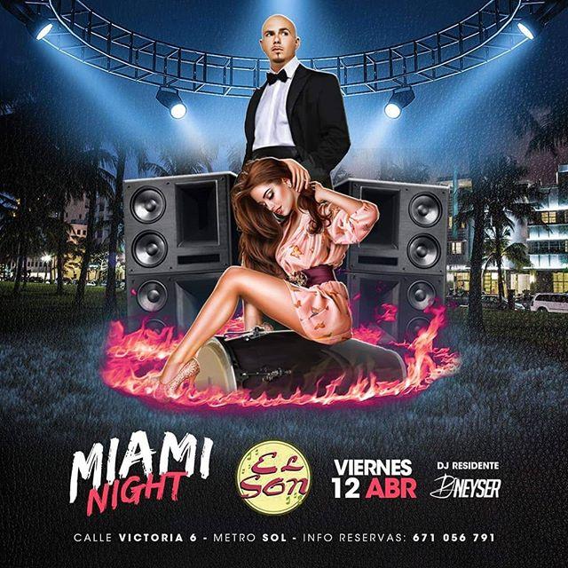¿Quién se viene a MIAMI? Esta noche en #ElSon cambiamos de ubicación y te traemos la esencia de esta importante ciudad de Florida. Su música, su ritmo, su todo! #miaminight #ritmoslatinos