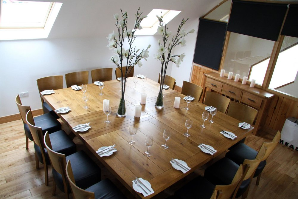 The Chart Room for business meetings, family occasions and private parties.