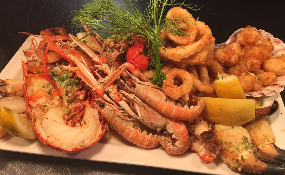 Our Summer Shellfish Platter is always a favourite, yum!
