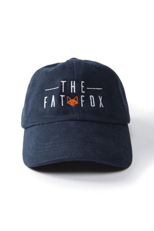 Navy Baseball Cap. The Fat Fox ... 71f76f16a11d