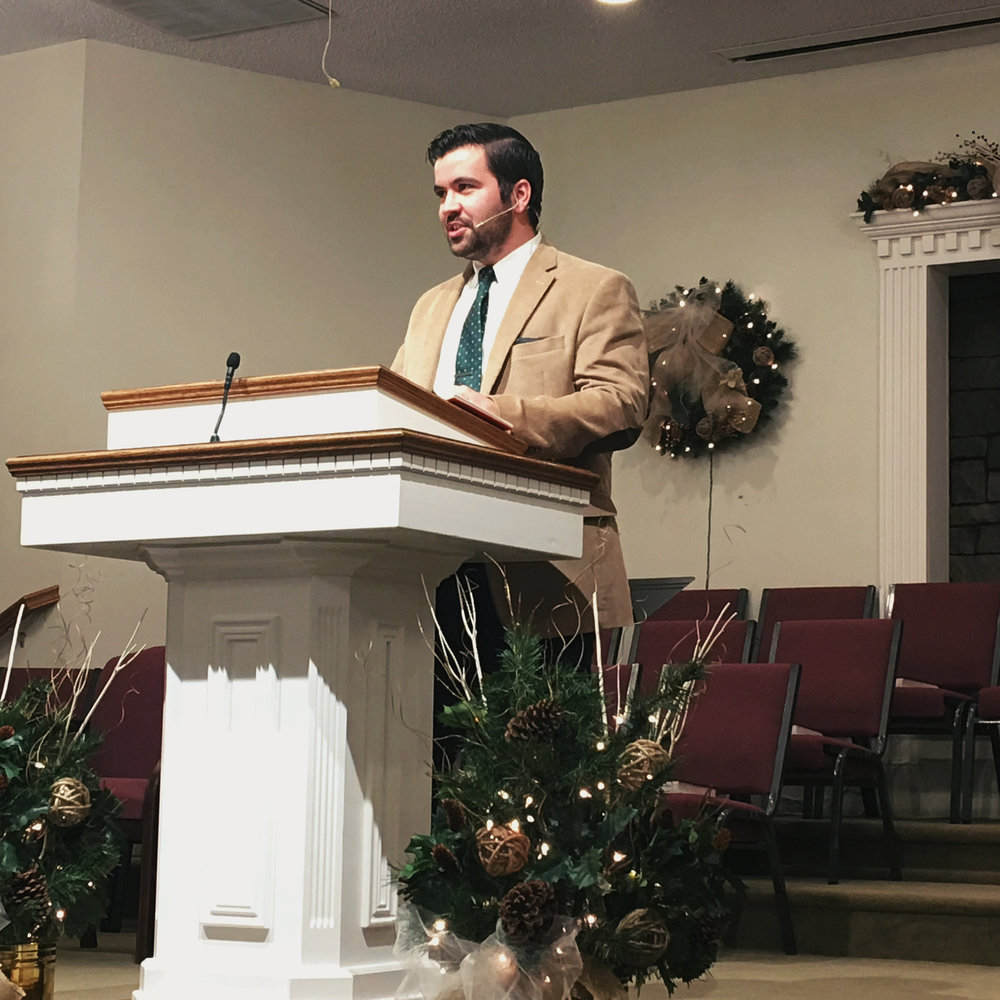 SPEAKING - Proclaiming Christ's mercy, truth, and pardon for weak and weary sinners.