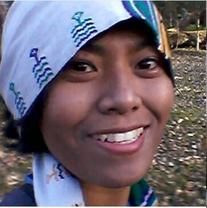 Elen - She's our Timor island tour guide who love to trek and experience the wildlife. She's also very well-known among the tribes' chiefs in Timor island