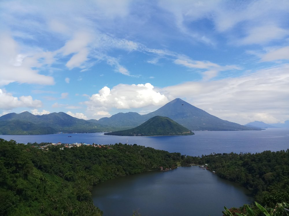 Ternate island -