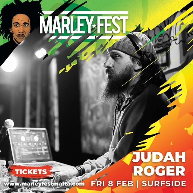 📣 ARTIST ALERT 📣 😍 Roger Judah Bluesparty Paris's own will be performing a DJ set at MARLEY FEST 2019 in addition to backing Sara Lugo!  Check out Judah's profile here:  https://www.marleyfestmalta.com/judah-roger 🙃 Get ready for 12 Hours sweet reggae music 🙃  PSSST! Pre-sale tickets are still on available 😉 👇Get yours here👇  https://www.marleyfestmalta.com/tickets/  ONE LOVE 💚💛❤️