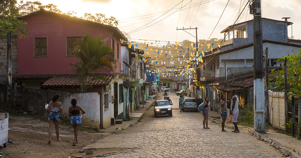 "The charming streets of ""Passagem"" neighborhood, Itacaré, Bahia - Brazil"