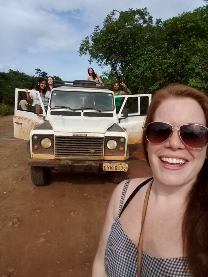 Julie, who volunteered for ETIV do Brasil in 2018