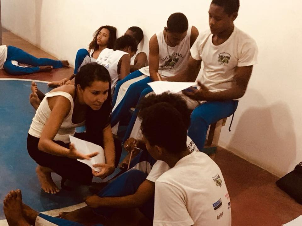 Eva, from Mexico, who volunteered in Brazil for ETIV do Brasil in 2018