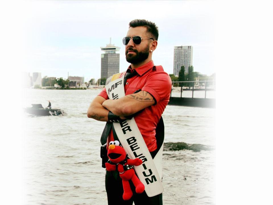 Sandro - Mister Leather Belgium 2017