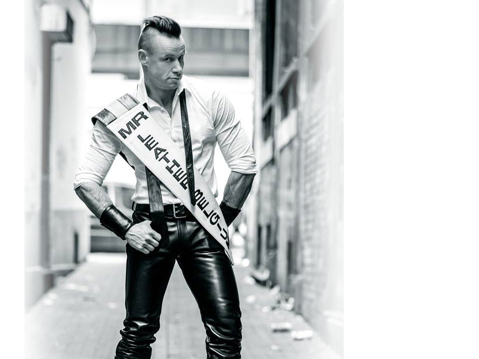 Yves - Mister Leather Belgium 2015
