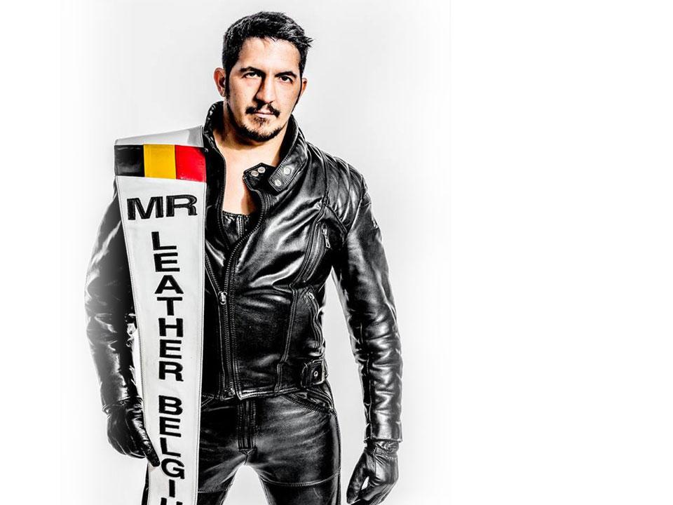 Nordine - Mister Leather Belgium 2014