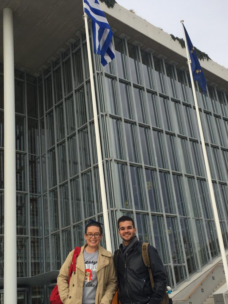 José Ángel and his wife Francis at the SNFCC