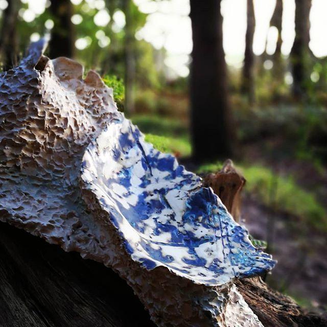Forest walk  #organic #ceramicart #claystructures #nature