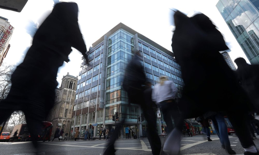 The offices of Cambridge Analytica in central London. Photograph: Daniel Leal-Olivas / AFP/ Getty Images