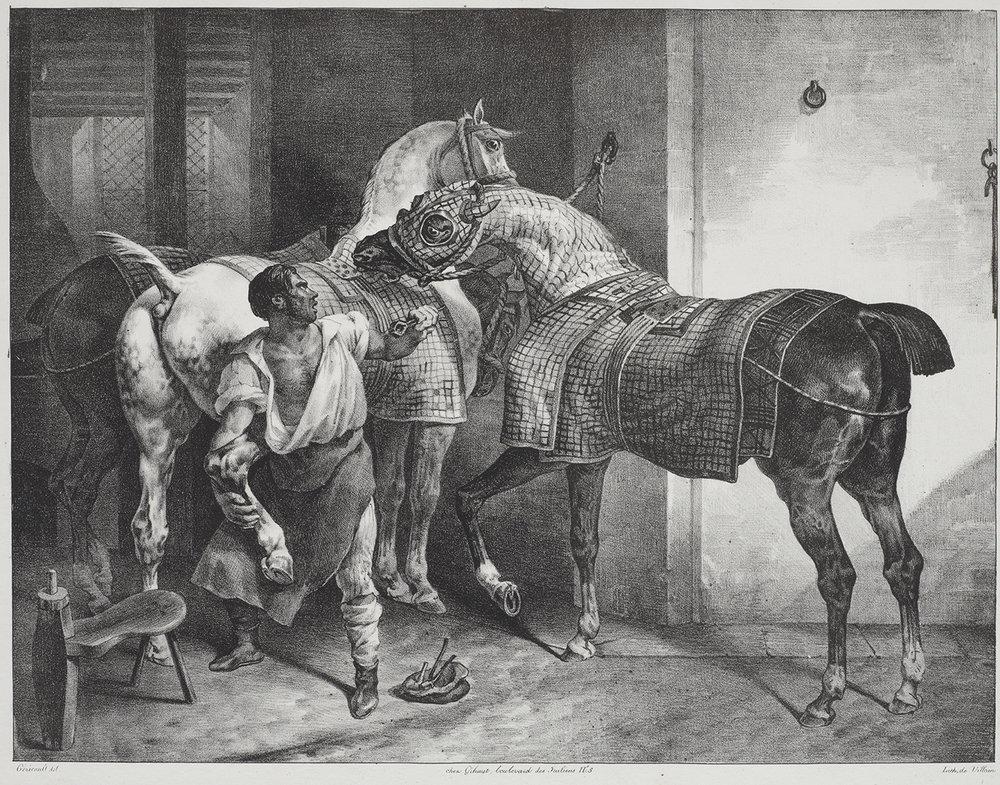 The English Blacksmith/Le Maréchal Anglais.