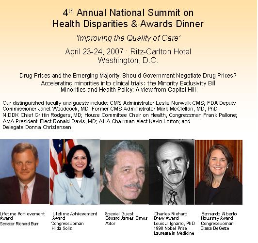 2007 NMQF Leadership Summit Flyer