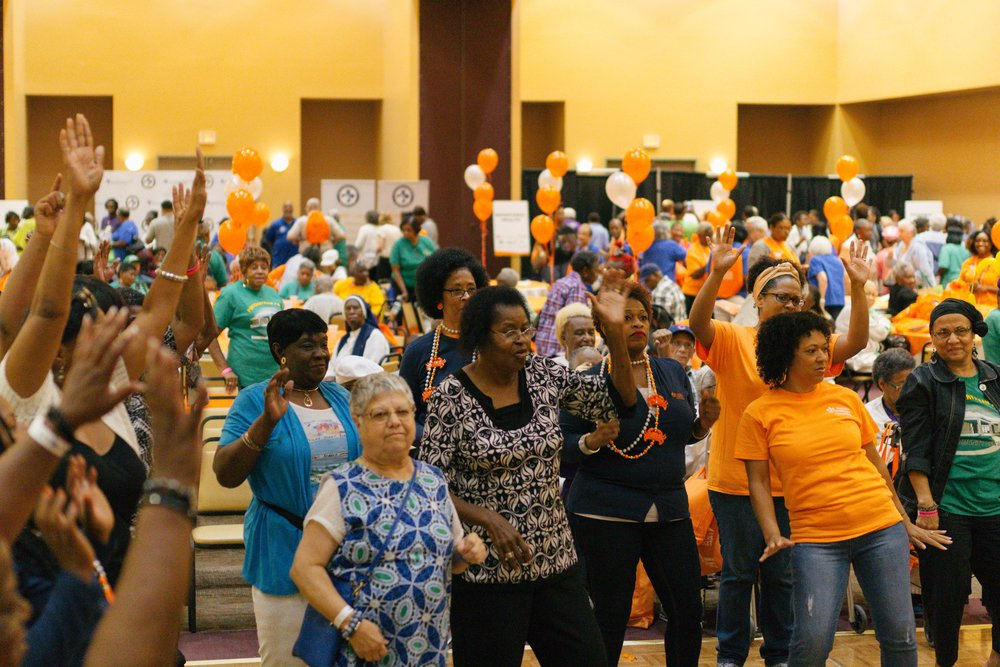 Community Events - In partnership with local organizations, the Forum hosts community events to encourage health equity.