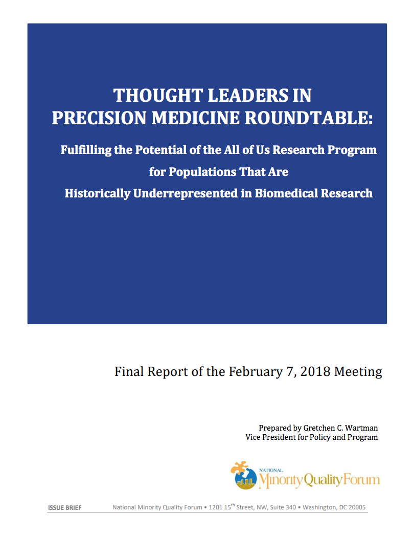 Thought Leaders In Precision Roundtable Cover