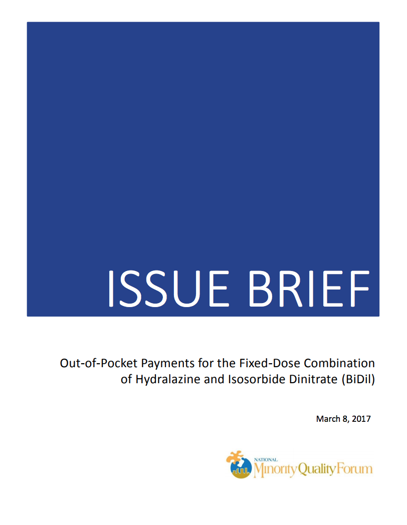 Out-of-Pocket Payments Issue Brief