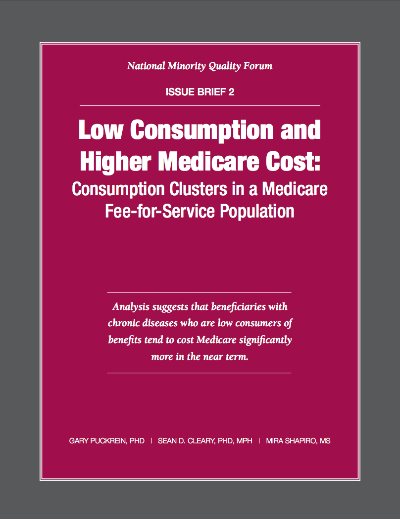 Low Consumption and Higher Medicare Cost Cover