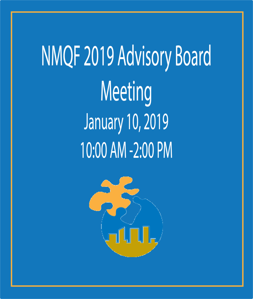NMQF Advisory Boarding Meeting Flyer