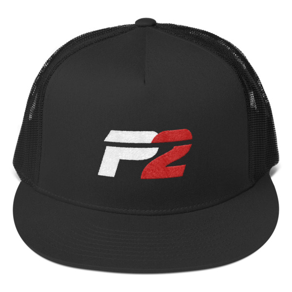 P2 Hat with Black Mesh Back -