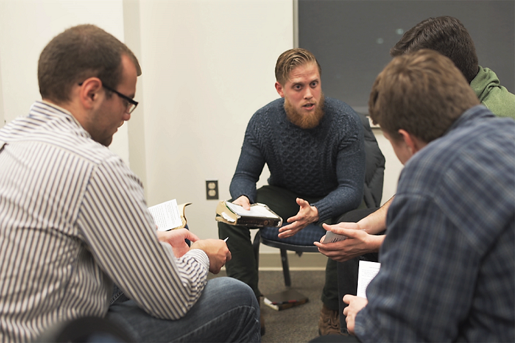 Call - We present students with the gospel through personal testimony, evangelistic prayer meetings, and high-impact retreats and invite them to respond to Christ.