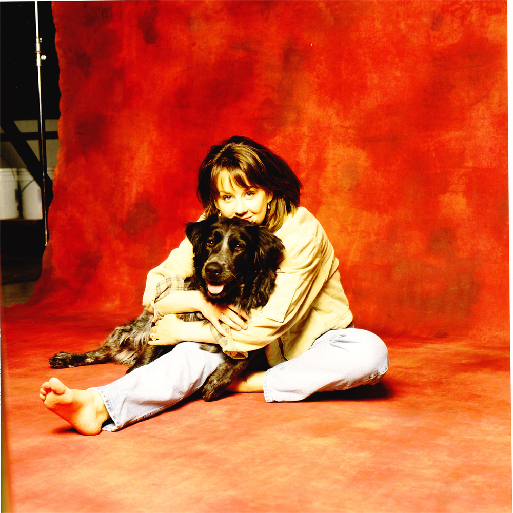 Ruby and her beloved dog, Sally