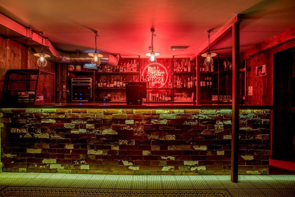Well Street Pizza Hackney Basement Bar