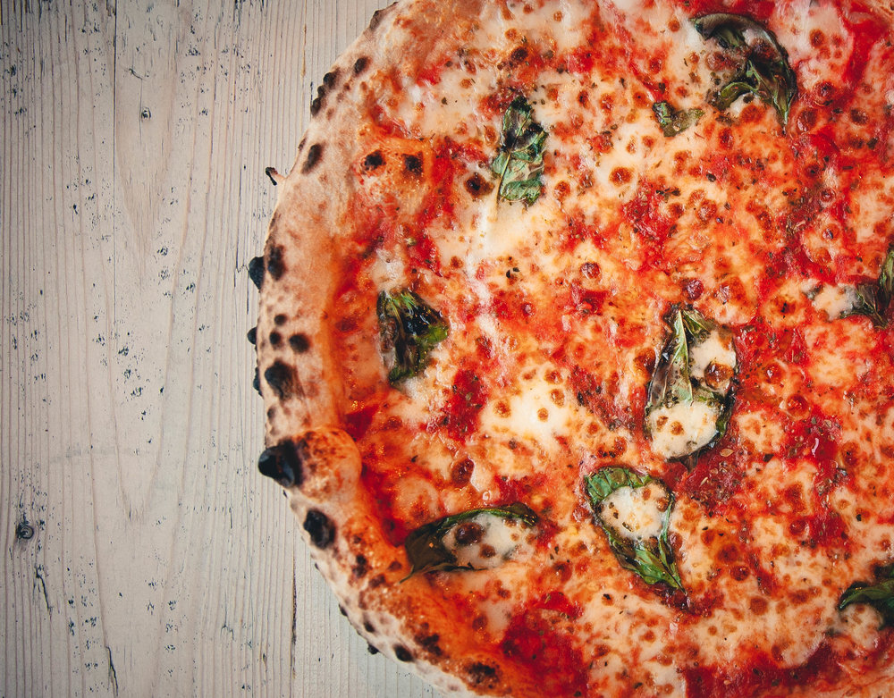 CONTACT - Ground Floor, Mountview120 Peckham Hill StLondon, SE15 5JT0203 058 0877peckham@wellstreetpizza.com