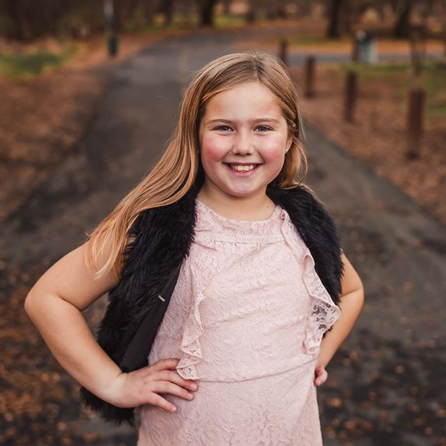 I love when my clients have fun personalities and this girl had so much spunk. I told her to give me her best pose and she immediately struck a pose no questions asked. I try to show my clients personalities as much as possible, especially kids, because that's how they should be remembered in the future, just as they truly are!
