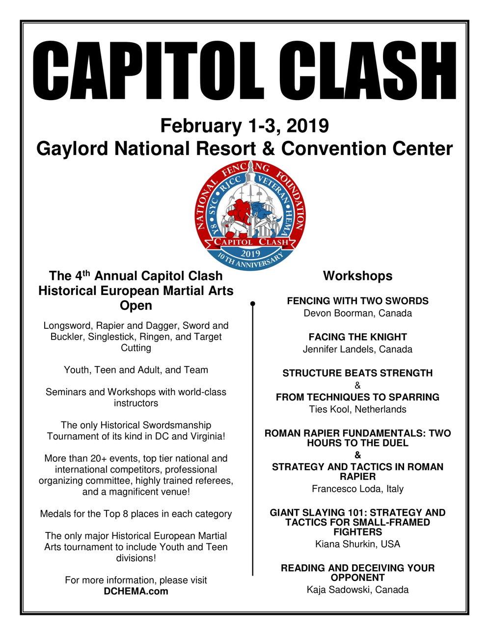 Tournament/Workshop Flyer