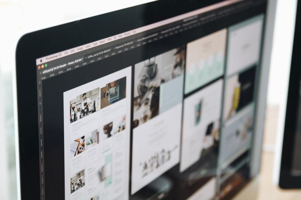 Web designer and Graphic designer