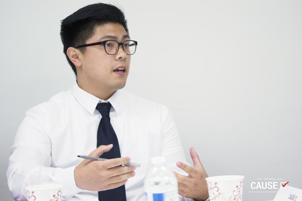 Andy Bui, 2018 CAUSE Leadership Academy