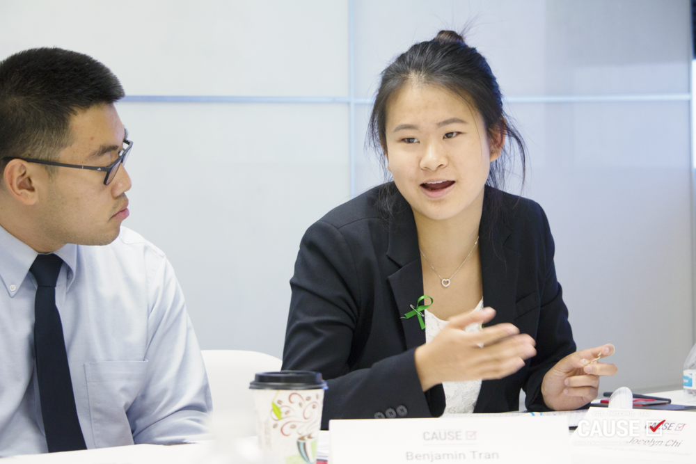 Jocelyn Chi, 2018 CAUSE Leadership Academy