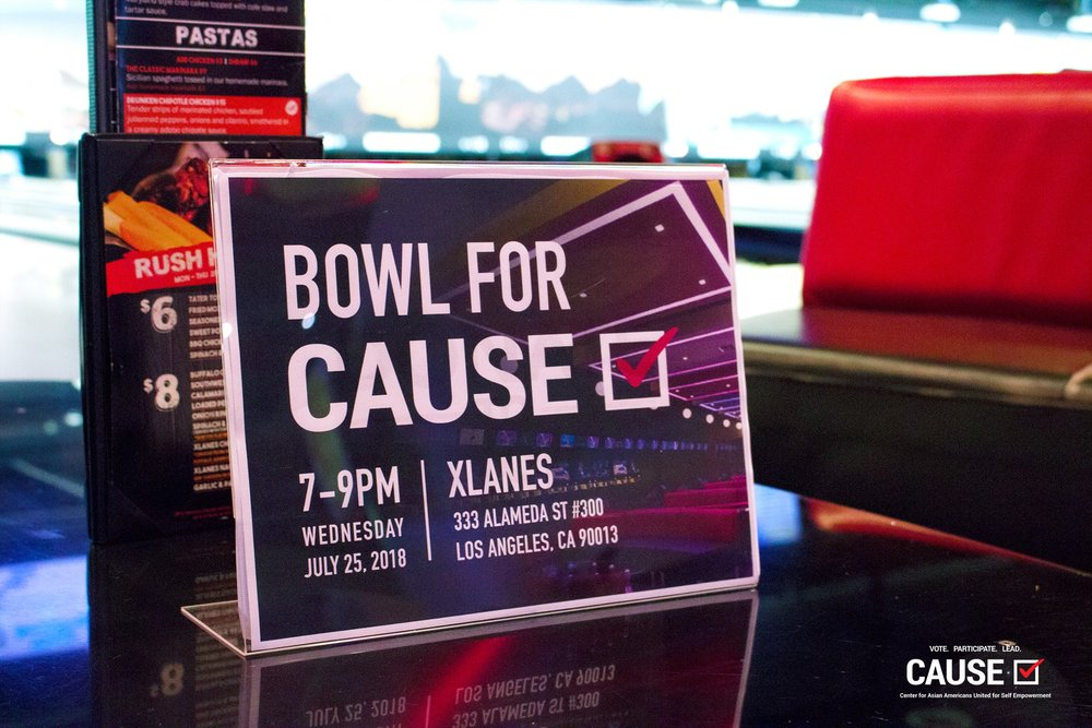 2018 Bowl for CAUSE Fundraiser