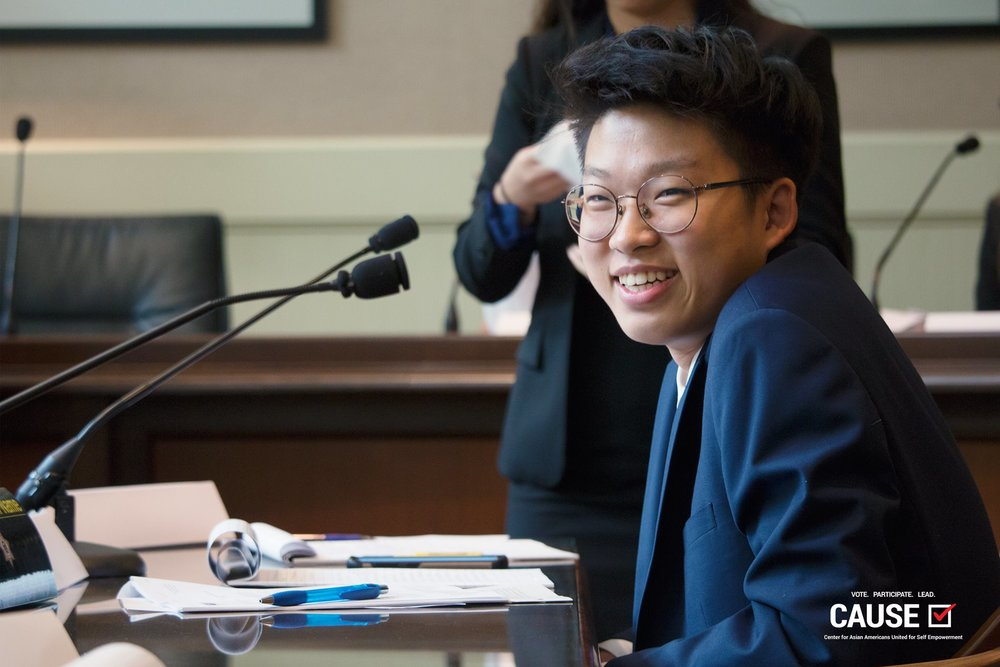 Hesu Song, 2018 CAUSE Leadership Academy intern