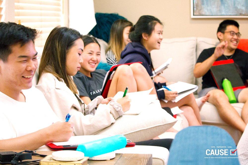 2018 CAUSE Leadership Academy orientation retreat