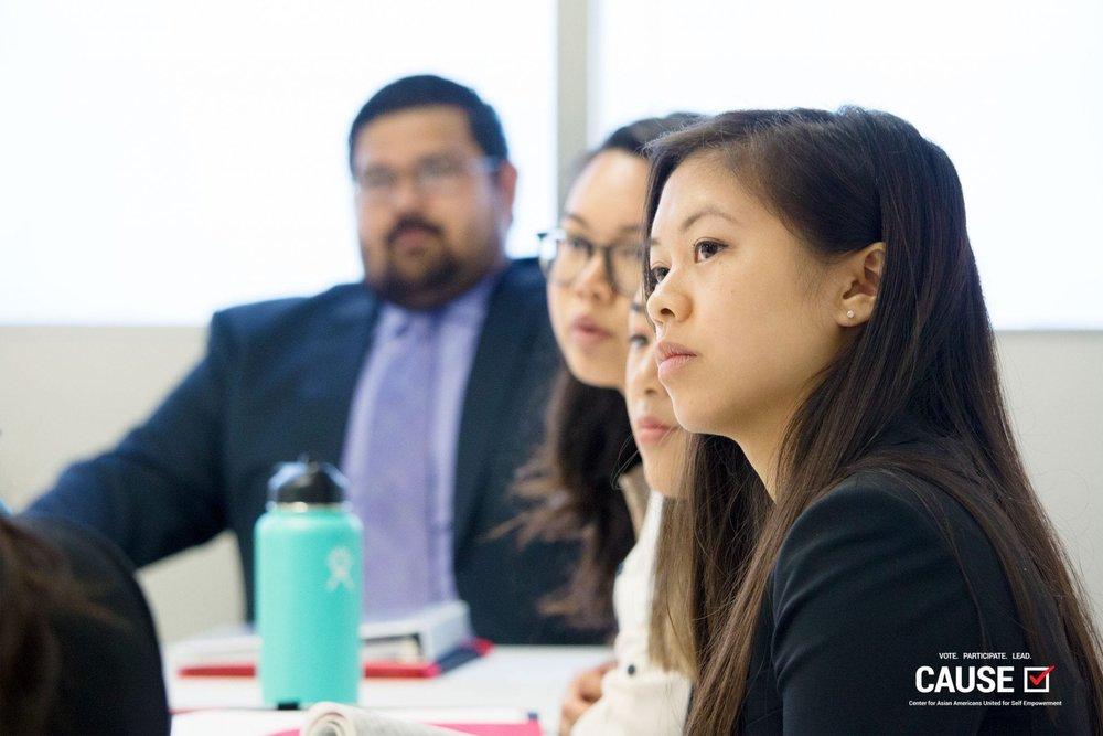 Leann Pham, 2018 CAUSE Leadership Academy intern
