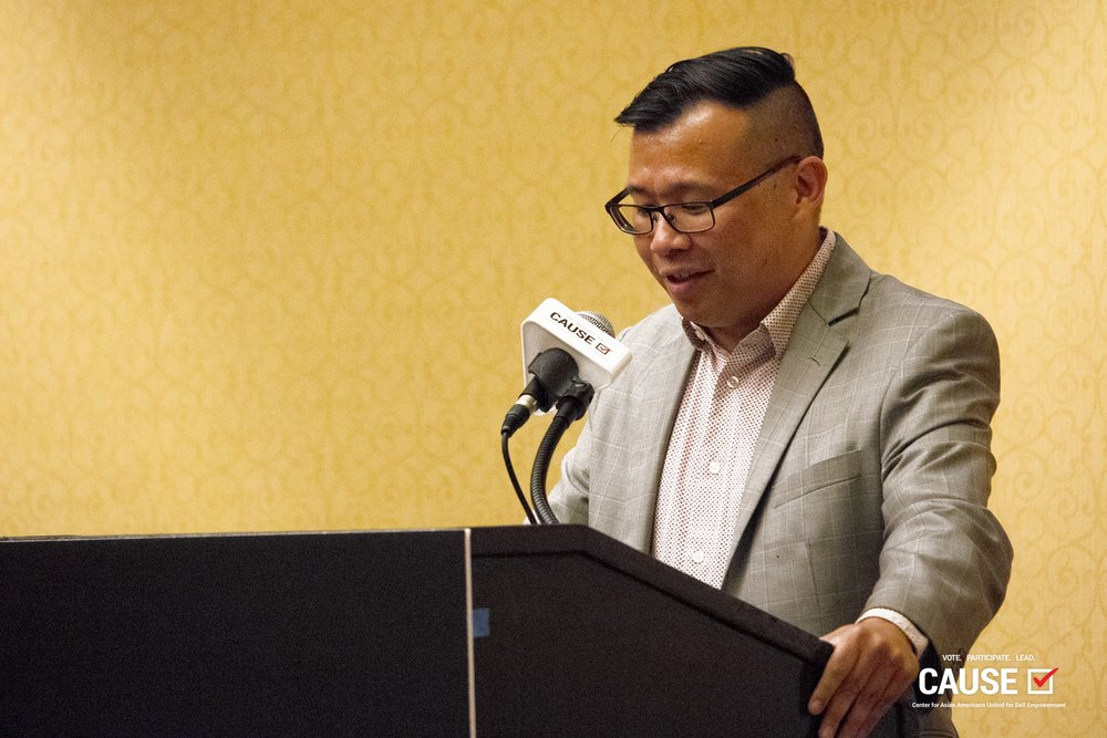 The Honorable Henry Lo speaks at the 2018 CAUSE Leadership Institute Graduation