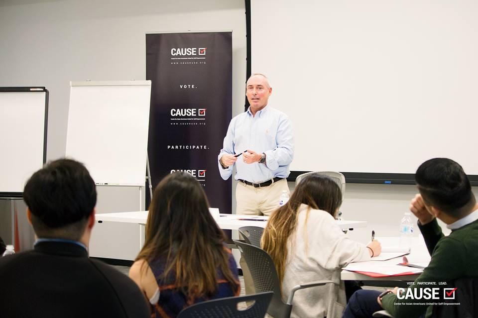 Dan Schnur speaking to the 2018 CAUSE Leadership Institute