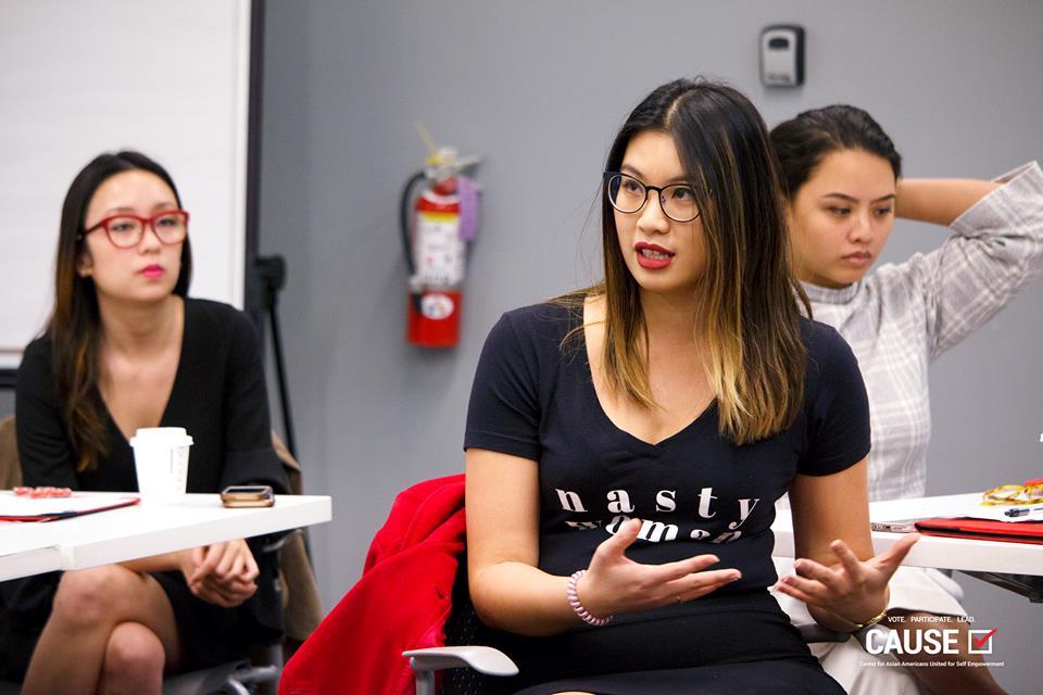 Olivia Lee, 2018 CAUSE Leadership Institute
