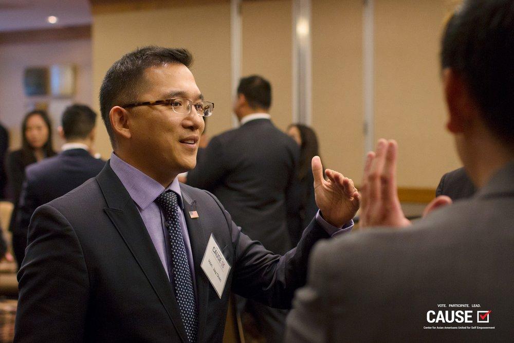 Jay Chen at the 2017 Veterans Initiative Kickoff